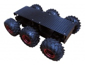 6 колесная база (DAGU educational robot 6WD wild thumper chassis (Black body with 75:1 gearbox))